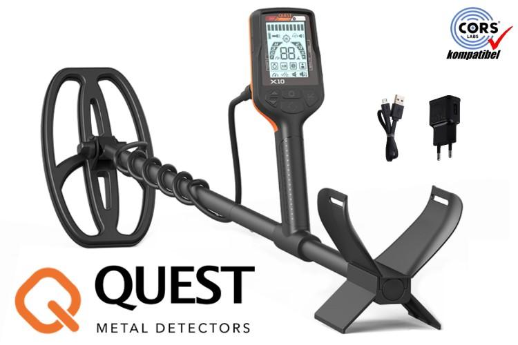 QUEST X10 Metalldetektor