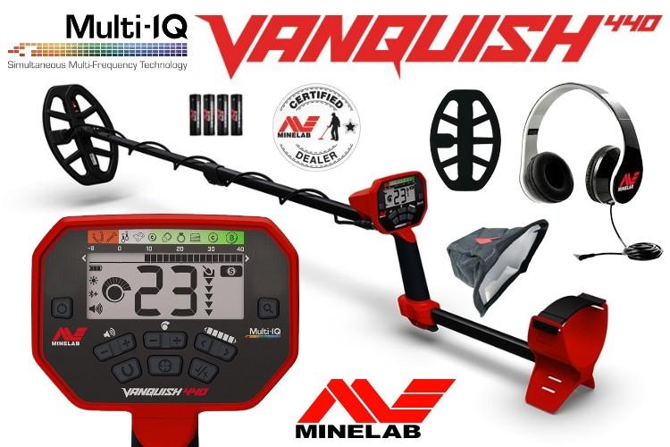 Minelab Vanquish 440 Metalldetektor